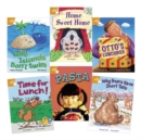 Learn at Home:Star Reading Orange Level Pack (5 fiction and 1 non-fiction book) - Book