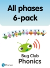 New Phonics Bug and Alphablocks All Phases 6-pack - Book