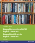 Edexcel International GCSE English Literature Student Book with ActiveBook CD - Book