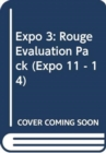 Expo 3 : Rouge Evaluation Pack - Book