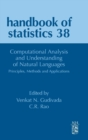 Computational Analysis and Understanding of Natural Languages: Principles, Methods and Applications : Volume 38 - Book