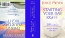 Starting and Ending Your Day Right - Book