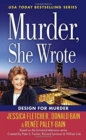 Murder, She Wrote: Design For Murder - Book
