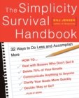The Simplicity Survival Handbook : 32 Ways To Do Less And Accomplish More - eBook