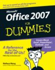 Office 2007 For Dummies - Book