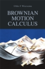 Brownian Motion Calculus - Book