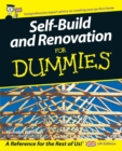 Self Build and Renovation For Dummies - Book