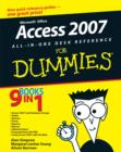 Microsoft Office Access 2007 All-in-one Desk Reference For Dummies - Book