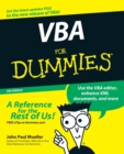 VBA For Dummies - Book
