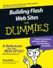 Building Flash Web Sites For Dummies - eBook