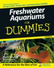 Freshwater Aquariums For Dummies - Book