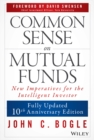 Common Sense on Mutual Funds - Book