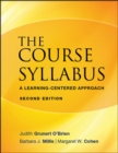 The Course Syllabus : A Learning-Centered Approach - Book
