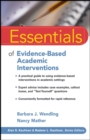 Essentials of Evidence-Based Academic Interventions - Book