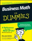 Business Math For Dummies - Book