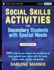 Social Skills Activities for Secondary Students with Special Needs - Book
