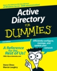 Active Directory For Dummies - Book