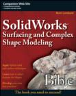 SolidWorks Surfacing and Complex Shape Modeling Bible - eBook