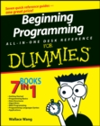 Beginning Programming All-in-One Desk Reference For Dummies - eBook