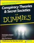 Conspiracy Theories and Secret Societies For Dummies - eBook