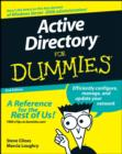 Active Directory For Dummies - eBook