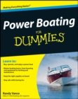 Power Boating For Dummies - Book