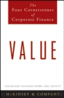Value : The Four Cornerstones of Corporate Finance - Book