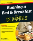 Running a Bed and Breakfast For Dummies - Book
