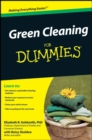 Green Cleaning For Dummies - eBook