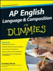 AP English Language and Composition For Dummies - eBook