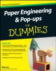 Paper Engineering and Pop-ups For Dummies - eBook