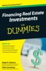 Financing Real Estate Investments For Dummies - eBook