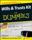 Wills and Trusts Kit For Dummies - eBook