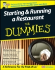 Starting and Running a Restaurant For Dummies : UK Edition - Book