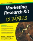Marketing Research Kit For Dummies - Book
