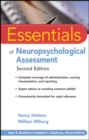 Essentials of Neuropsychological Assessment - eBook