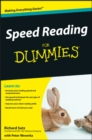 Speed Reading For Dummies - eBook