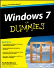 Windows 7 For Dummies - eBook