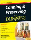 Canning and Preserving For Dummies - eBook