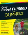 Canon EOS Rebel T1i / 500D For Dummies - eBook