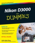 Nikon D3000 For Dummies - Book