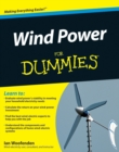 Wind Power For Dummies - eBook