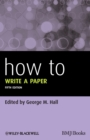 How To Write a Paper - Book