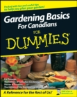 Gardening Basics For Canadians For Dummies - eBook