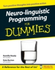 Neuro-linguistic Programming for Dummies - eBook