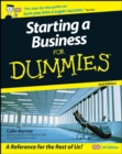 Starting a Business For Dummies - eBook