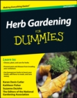 Herb Gardening For Dummies - eBook