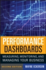 Performance Dashboards : Measuring, Monitoring, and Managing Your Business - eBook