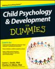 Child Psychology and Development For Dummies - Book