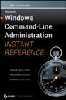 Windows Command Line Administration Instant Reference - eBook